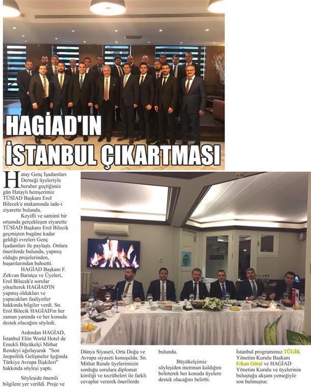 Erkan Güral ve HAGİAD Yönetim Kurulu
