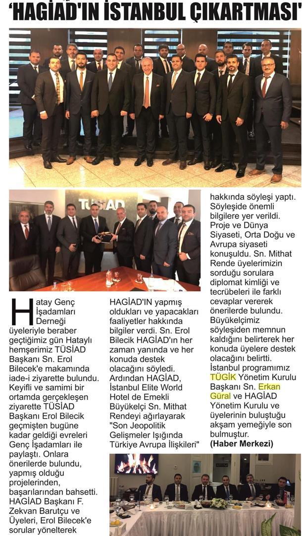 HAGİAD üyelerinin İstanbul durağı