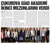 Çukurova GIAD Akademi ikinci mezunlarını verdi.