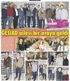 GESİAD yeni yıl yemeğini Erkan Güral ın katılımıyla gerçekleştirdi..