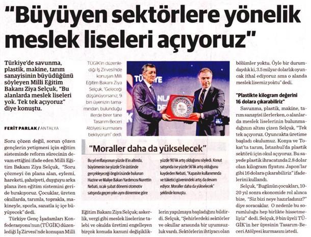 Genç is insanları Antalya'da buluştu