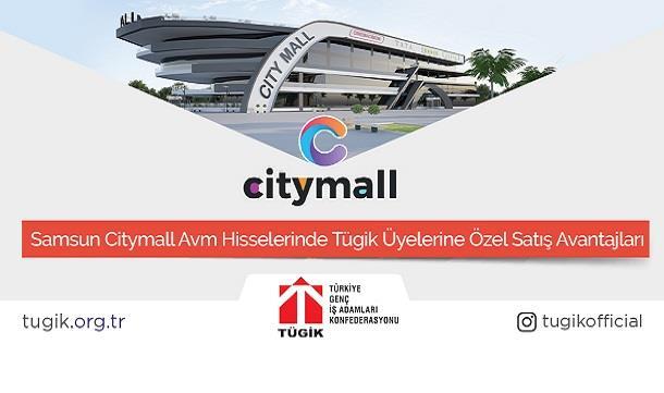 Samsun Citymall Avm Hisselerinde TÜGİK Üyelerine Özel Satış Avantajı