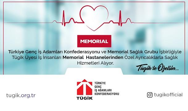 Memorial Sağlık Grubu Hizmetlerinden TÜGİK'e Özel Ayrıcalık