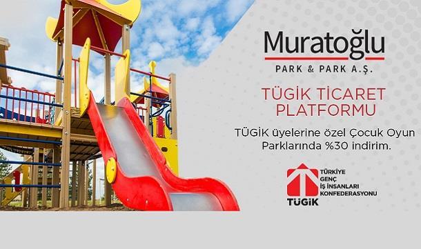 Muratoğlu Park&Park'dan TÜGİK üyelerine özel %30 indirim.
