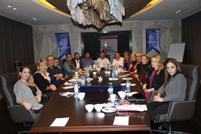 TÜGİK Yönetim Kurulu Kasım ayı toplantısı Adana'da gerçekleştirildi.7 Kasım 2014.