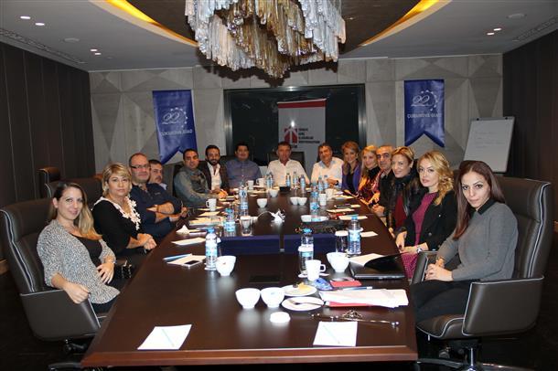 TÜGİK Yönetim Kurulu Kasım ayı toplantısı Adana'da gerçekleştirildi.7 Kasım 2014