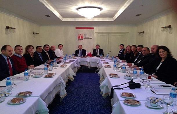 TÜGİK Yüksek İstişare Konseyi Gaziantep'te toplandı.