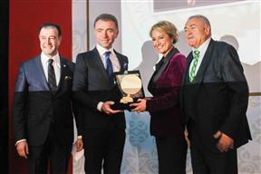 TÜGİK Genel Başkanı Erkan Güral'a ASTOP'tan Üstün Hizmet ve Başarı Ödülü-06 Aralık 2014.