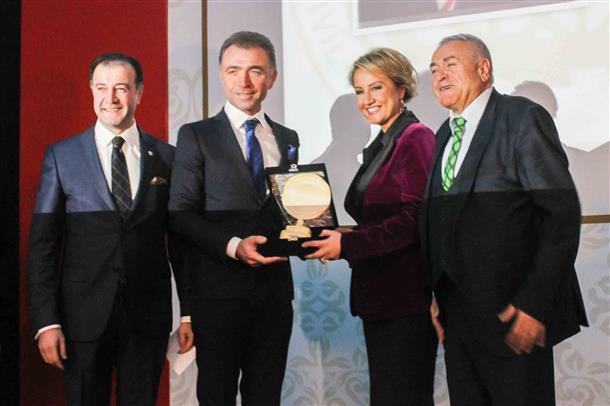 TÜGİK Genel Başkanı Erkan Güral'a ASTOP'tan Üstün Hizmet ve Başarı Ödülü-06 Aralık 2014