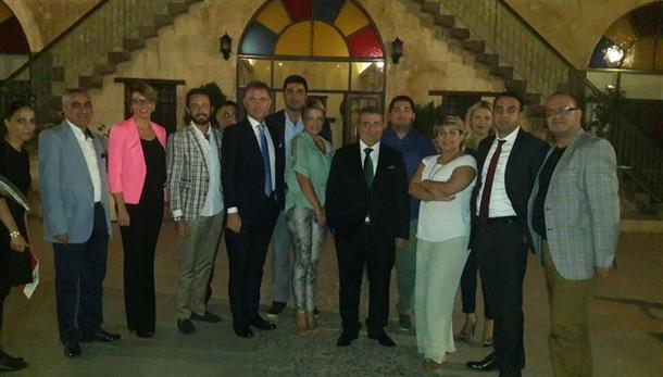 TÜGİK Yönetim Kurulu Eylül ayı  toplantısı Gaziantep'te gerçekleştirildi.