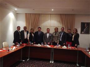 TÜGİK Yönetim Kurulu Ocak ayı toplantısı Mersin'de gerçekleştirildi..
