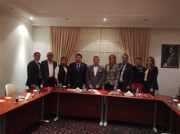 TÜGİK Yönetim Kurulu Ocak ayı toplantısı Mersin'de gerçekleştirildi.