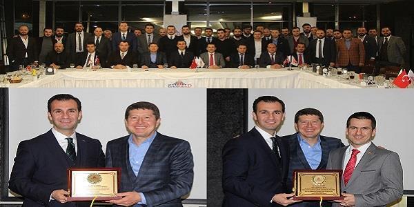 SAMGİAD Aralık Ayı İş Yemeği TUGİK YİK Başkanı Erhan Özmen katılımıyla gerçekleşti.