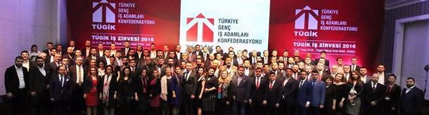 TÜGİK İş Zirvesi 2016 (14-17 Ocak 2016-Antalya)