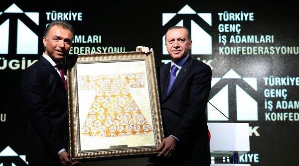 TÜGİK Mali Genel Kurulu Cumhurbaşkanı Recep Tayyip Erdoğan'ın katılımıyla gerçekleşti