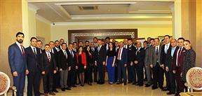 TÜGİK Genişletilmiş Başkanlar Kurulu Toplantısı Sapanca'da gerçekleştirildi..