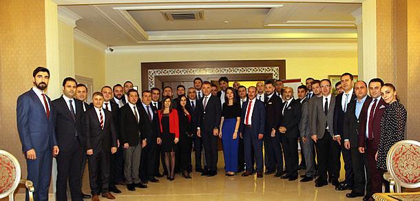 TÜGİK Genişletilmiş Başkanlar Kurulu Toplantısı Sapanca'da gerçekleştirildi.