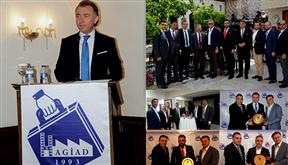 TÜGİK Başkanı Erkan Güral, HAGİAD üyeleri ile bir araya geldi..