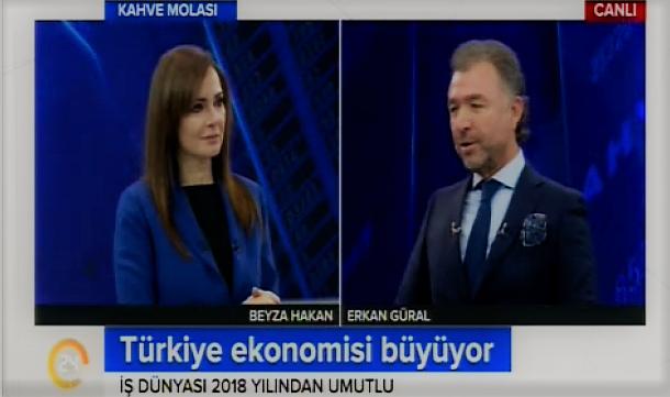 24 TV- Konuk: TÜGİK Genel Başkanı Erkan Güral.