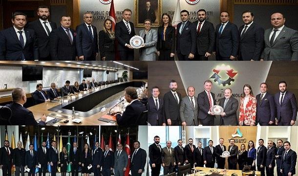 TÜGİK Protokol Ziyaretleri 12.11.2018