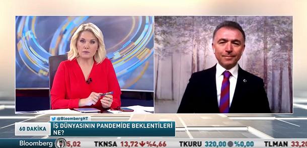 Sayın Erkan Güral, Bloomberg TV'de Sayın Zeliha Saraç'ın konuğu.
