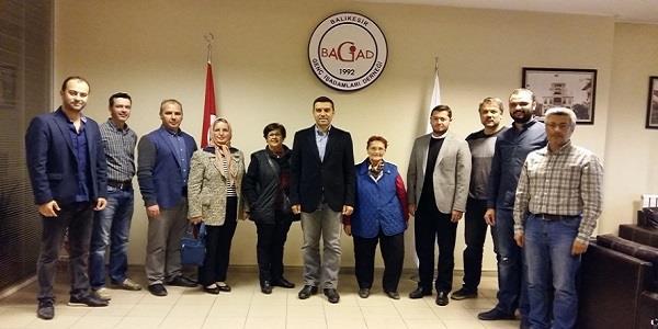 BAGİAD'a Teşekkür Ziyareti