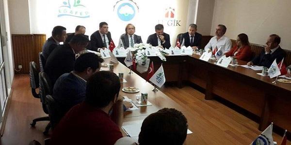 EGAFED 112.Yönetim Kurulu Toplantısı Söke'de gerçekleşti