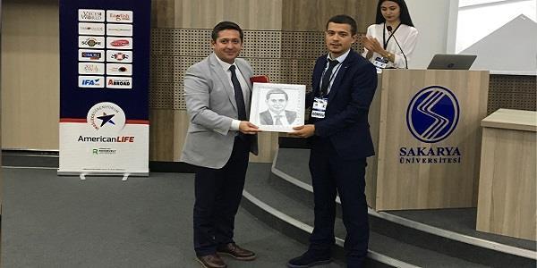 Sakarya Üniversitesi  Öğrencileri Gökhan Korkmaz'ı Ağırladı