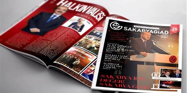 Sakarya GİAD haber dergisi son sayısı 30 Kasım da yayında
