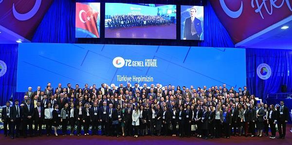 TOBB 72. Genel Kuruluna Genel Başkan Erkan Güral katıldı.