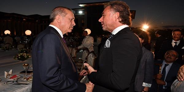 Genel Başkan Erkan Güral Cumhurbaşkanlığı iftar yemeğinde