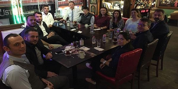 İzmit GİAD sezonun 2.Toplantısını Cafe Kristo'da gerçekleştirdi