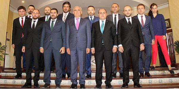 SAMGİAD'dan Başkan Yılmaz'a ziyaret
