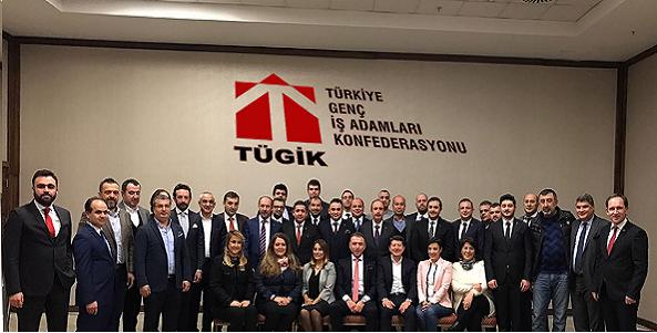 TÜGİK Genişletilmiş Başkanlar Kurulu Toplantısı İstanbul'da yapıldı.
