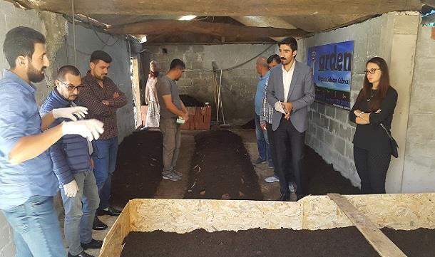 Bafra GİAD 'dan Organik TARIM için Solucan Gübresi Projesi.