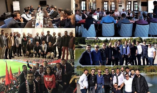 TÜGİK Yönetim Kurulu Toplantısı Eskişehir'de gerçekleştirildi.