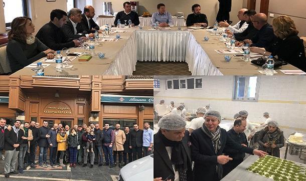 TÜGİK Yüksek İstişare Konseyi Toplantısı Gaziantep'te gerçekleştirildi.
