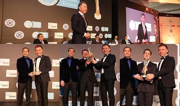 """Erkan Güral'a """"2017 Yılının En Başarılı İş Adamı""""  ödülü"""