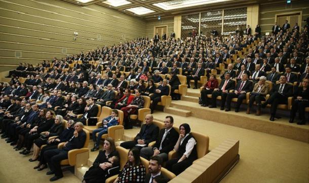 Erkan GÜRAL, 2017 Yılı Tübitak Ödül Törenine Katıldı.