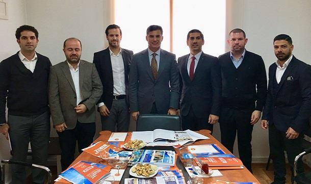 Kuzey Kıbrıs GİAD 'dan siyasi parti ziyaretleri.