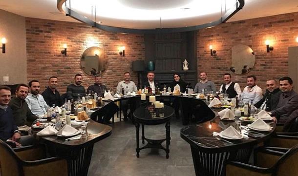 TÜGİK Genel Başkanı Erkan Güral, İnegöl GİAD üyeleri ile bir araya geldi..