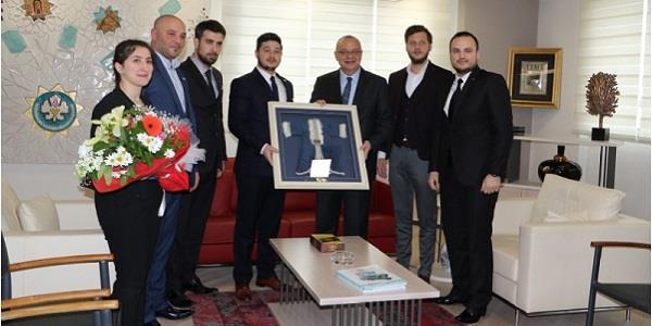 MAGİAD Yeni Yönetiminden Kurucu Başkan'a Ziyaret