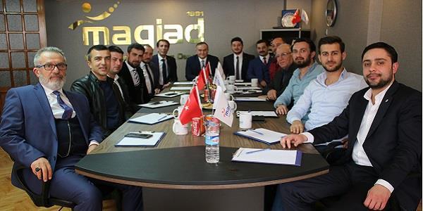 MHP'nin Kurmaylarından MAGİAD'a ziyaret