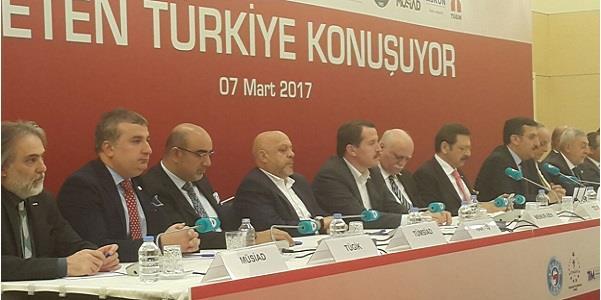 'Üreten Türkiye Konuşuyor' tanıtım toplantısı yapıldı.