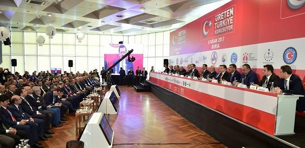Üreten Türkiye Konuşuyor toplantısı Bursa'da