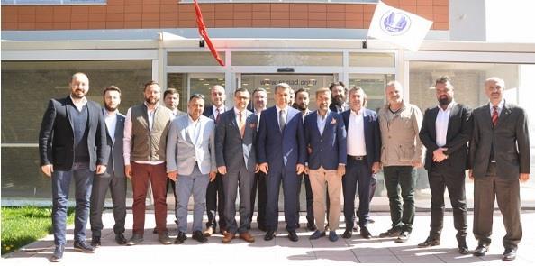 Eskişehir Valisi Çelik, ESGİAD Yönetimi'ni ziyaret etti