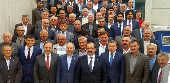Sayın Akif Çağatay Kılıç'a Bafra'nın Dünyaya Açılmasını sağlayacak proje sunuldu.