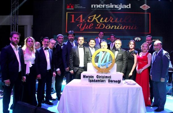 Mersin GİAD 14. yılını görkemli bir balo ile kutladı.