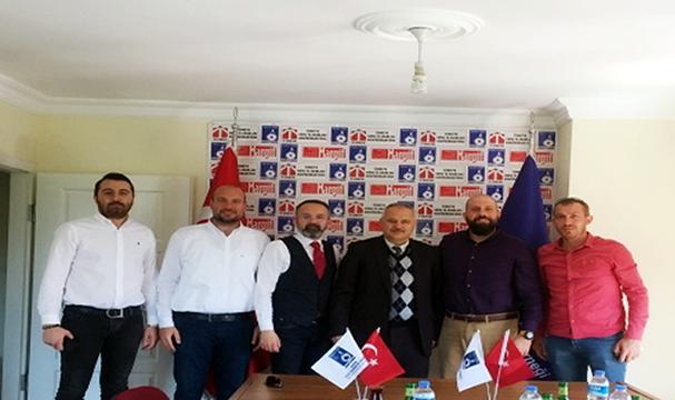 Muhammed Osman ŞENER'den Bartın GİAD'a ziyaret