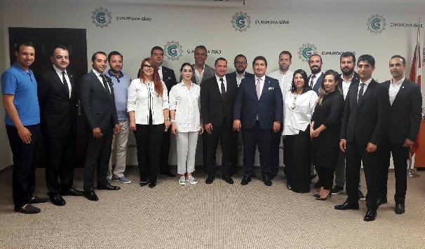 Ömer Faruk Sakarya 3'üncü kez Çukurova GİAD Başkanı